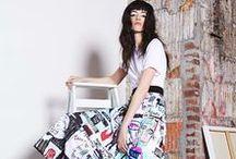 Fashion I Women I Mixed Styles / Modern/Vintage (no glamour)/FW/Editorial