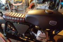 moto guzzi cafè racer / moto guzzi cafè racer by robb's garage