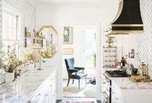 Kitchens: Mostly white