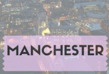 Manchester / Manchester is a vibrant city in the day and at night. Great for partying and shopping.