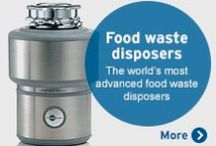 InSinkErator - Made in USA / InSinkErator – Enhance Your Life In and Around the Kitchen.  Food waste disposers make life in the kitchen easier and offer an environmentally responsible solution. Welcome to the premium, innovative world of InSinkErator®, the world's leading name in kitchen sink appliances. From the best-selling range of food waste disposers to stylish steaming hot water taps, we offer a range of brilliantly designed, aesthetically appealing products that are totally in tune with the way you live.