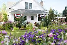 Meadowbrook Farm, oh-so lovely. / A lovely world she's created...I could live there!