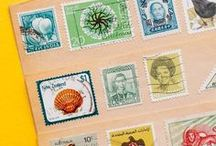 stamp collection // / stamps, stamps and more stamps!