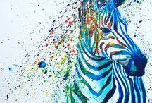 Chriswilliamart / Wildlife art, artist, colour, home decor