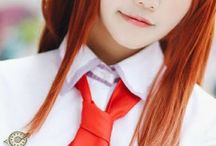 aes   ch   ;; Makise Kurisu / sᴛᴇɪɴs;ɢᴀᴛᴇ ┊ ( 牧瀬 紅莉栖 ) ┊  genius girl – lab member 004 ┊ `` 【 People's feelings are memories that transcend time. 】 ``