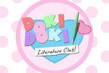 aes   ch   ;; DOKI DOKI ♡ Literature club /  `` 【 Every day, I imagine a future where I can be with you.  In my hand is a pen that will write a poem of me and you.  The ink flows down into a dark puddle,  Just move your hand - write the way into his heart!  But in this world of infinite choices,  What will it take just to find that special day?  What will it take, just to find- that special day?  】 ``
