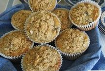 Muffins / All kinds of delicious muffins, savoury and sweet, perfect for breakfast and snacks.