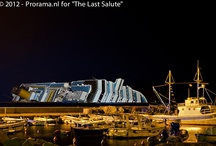 Salvage Costa Concordia / The ship wrecked Costa Concordia