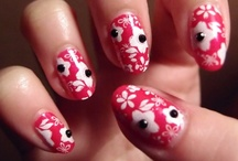 We Do Fancy Nails! / Nail art designs that we have done, including stamping, freehand, french, fimo and rhinestones.