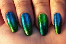 We Make Gradients! / Our manicures featuring jelly, sponge or glitter gradients.