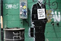 Awesome street art by Banksy & cohorts