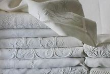 Whitework  / by Vintage Linens