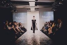 NZ Fashion Week 2012 / taylor reveals a capsule collection that blends the current s/s 12/13 'Shadow' Collection towards our Winter 2013 collection. www.taylorboutique.co.nz