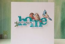 01:Cards from the Cloud / Beautiful cards I have found on Pinterest. / by Jo Laughlin