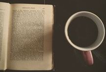 Coffee, books, relax. / With coffee and a good book, you can always relax! / by Amanda S.