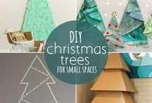 Deck Your Dorm / Affordable and creative ways to decorate a dorm room for the holiday!