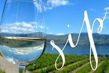 Okanagan Valley / The Okanagan wine valley of British Columbia, Canada