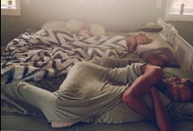 Family Bed. / by . Jinni .