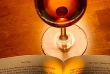 Wine & Books / Two perfect companions for the a perfect relaxing moment.