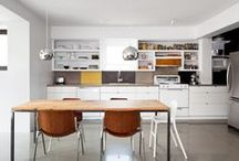 Bright and white kitchens / Scandinavian bright and clean kitchens with a cosy vibe