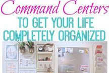 Command Center / Command Center Ideas / by April Williams Hart