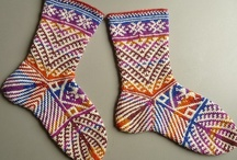 knitted socks / by A Quezada Duncan