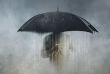 umbrellas  parasol  paragua / by A Quezada Duncan