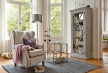 Wohnen im Landhausstil / Gemütliches Interieur, das ein Stück ländliche Lebensart in die eigenen vier Wände bringt/Country/Cottage/Interior/Einrichtung