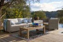 Terrassenträume / Sitzgruppen und Loungemöbel, die den Garten und die Terasse in Schmuckstücke verwandeln. Garden /Terrace