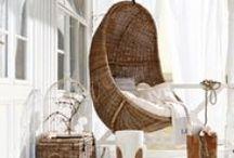 Seaside Feeling / Plätze, Möbel und Accessoires, die das Strandfeeling direkt nach Hause bringen.Strandhaus/Beach House/ Beach Cottage/ Interior/Einrichtung/Maritim