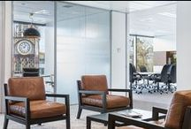 Corporate interiors / Office spaces - some of our own as well as great fit outs from around the world