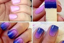 Nails / different ways to paint your nails, and fun design #Nails