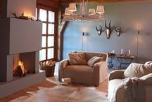 Wohnen wie in den Bergen / Berge, Wiesen, Seen - Einrichtung im Stil eines Berghauses/ Mountain Home/Rustikal