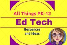 EdTech / Everything Ed Tech -- articles, best-practice ideas, links to blogs, Web-based and tablet apps to consider...let's face it, it is a cornucopia of Ed Tech goodies. / by Karen Streeter