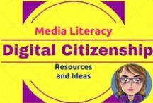 Digital Citizenship / Need resources to support digital citizenship, copyright and fair use, media literacy, Internet Safety and/or understanding how to manage your digital footprint? You have come to the right Pinterest Board. / by Karen Streeter