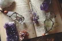 Wild At Heart / All good things are wild and free - Henry David Thoreau [crystals;feathers;rock;shells;stones]