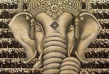 Lord Ganesha / Remover of obstacles <3