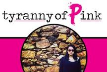 Tyranny of Pink Blog / This is a blog for anyone who is ready to start accepting that it's okay to just be yourself and let go of the baggage holding you back! Be Unapologetically You!   Here you will find my blunt take on life, love, travel, becoming a mom and being unapologetic.