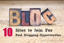 The Business of Blogging / Pins about the business side of blogging.