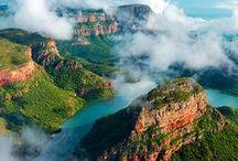 Paysages d'Afrique du sud / Parce que l'Afrique du Sud ce sont des paysages variés et magnifiques !