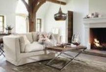 Winterliche Einrichtungsideen / Winterliche Einrichtung - gemütlich, heimelig mit liebevoller Dekoration.