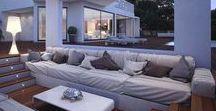 Domy, zahrady, venkovní posezení, ....