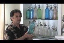 Vidéos / Vidéos en rapport avec les siphons et l'eau de Seltz