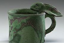 POTTERY- MUGS-CUPS-GOBLETS