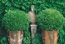 French Gardens / A traditional, opulent style of gardening that brings back a memory of medieval and baroque gardens long past. Revive this rustic, antique old method of gardening and landscaping by finding your inspirations here.