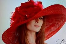 LADIES FASHION HATS / DESIGNER ELEGANT HATS FOR ELEGANT FASHIONABLE WOMEN