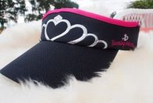 Visors & Hats / Shade your eyes from the rain and sun with our fun visors and hats! See more at runningprincess.com