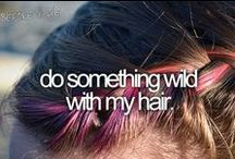 Bucket list / Things I want to do before I die~