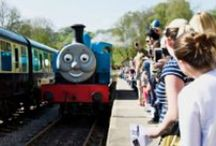 Dean Forest Railway / Love steam?  Dean Forest Railway is the place to be and twice a year Thomas the Tank and his friends visit :)