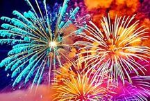 FIREWORKS / DURING MY FIRST FEW YEARS IN HONGKONG, I ALWAYS WATCHED THE FIREWORKS--NEW YEAR AND CHINESE NEW YEAR.THEY WERE SPECTACULAR. I'VE NEVER SEEN ANYTHING LIKE IT BACK HOME.THE SHOW I UNDERSTAND COST THE GOVERNMENT MILLIONS OF DOLLARS EVERY YEAR. MAMA MIA! ! !